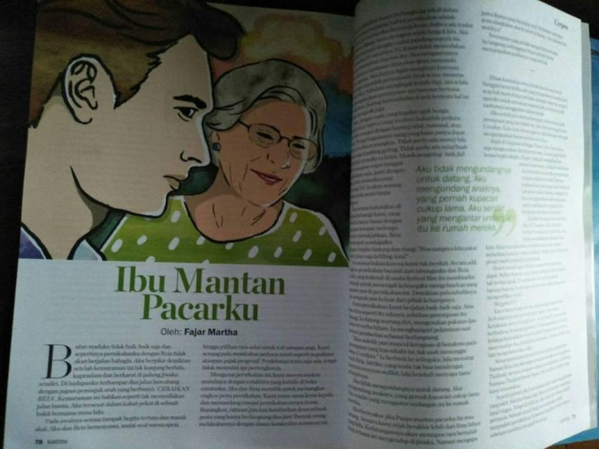 Ibu Mantan Pacarku (Majalah Kartini, edisi 2453, 6-20 Juli2017)