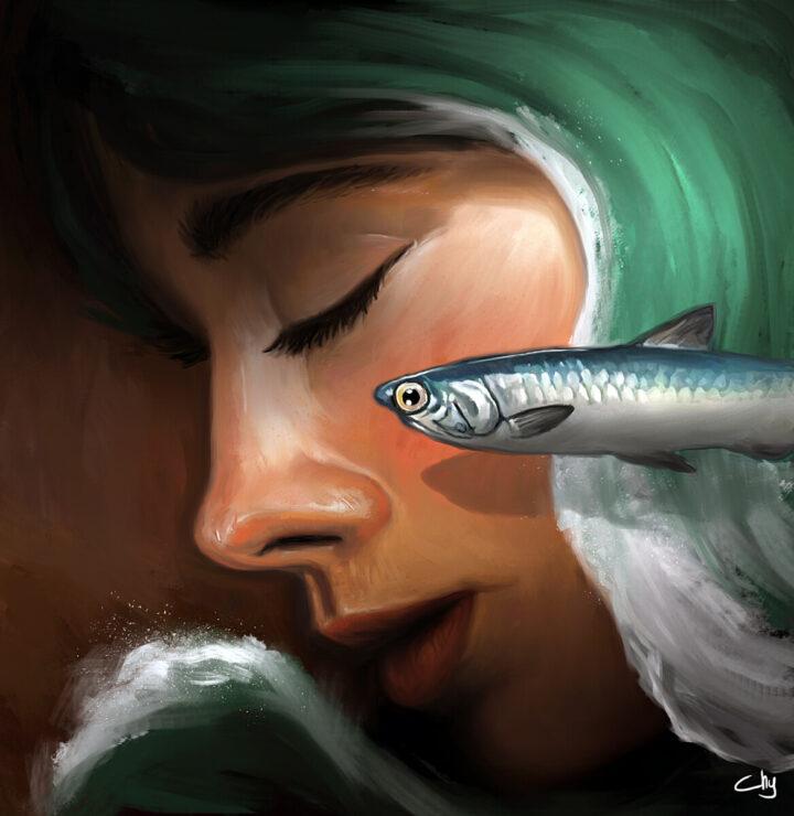 Perempuan Ikan Asin (Kompas,19032020)